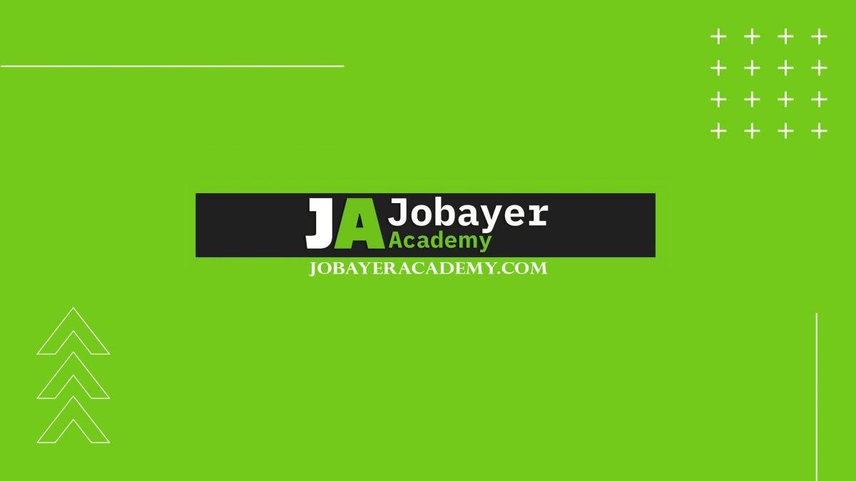 Jobayer Academy Social Logo