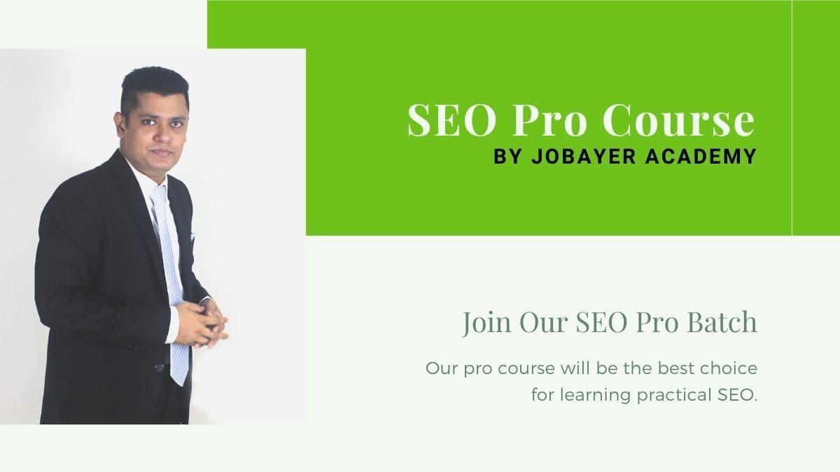 SEO Pro Course
